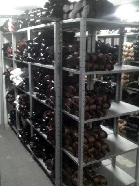 Estanter a y muebles for Fabrica de muebles metalicos