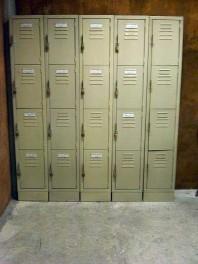 Lockers con Porta Candado